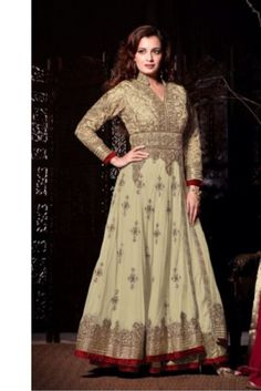 #BlessedFriday #Sale Beautifully crafted with embroidery anarkali suits now on sale at Complete the lookz.