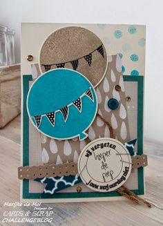 Stampin'Up stempels en designpapier, Digi tekst van Cards and Scrap.