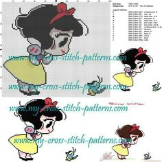 Crochet free pattern disney punto croce 52 Ideas for 2019 Cross Stitch Needles, Beaded Cross Stitch, Cross Stitch Baby, Cross Stitch Charts, Cross Stitch Embroidery, Embroidery Patterns, Hand Embroidery, Disney Cross Stitch Patterns, Cross Stitch Designs
