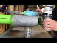 (8) Glitter Tumbler Series: Episode 3a: Epoxy on Loose Glitter Tumbler - YouTube