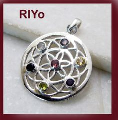 Multi #Gemstone Gem 92 5 #Silver Celtic Jewelry #Pendant L 1 5in Spmul 5221 | eBay