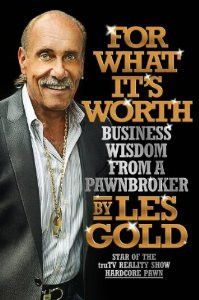 "Pin It To Win It. Pin Les Gold's best selling book ""For What It's Worth"" and you could win a copy!"