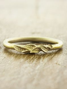 Unique Wedding rings by Ken & Dana Design.  Nature Inspired in NYC.