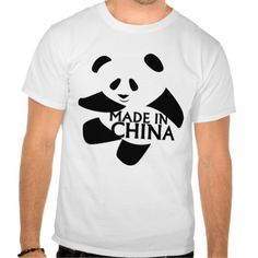 Panda Design, Made in China.