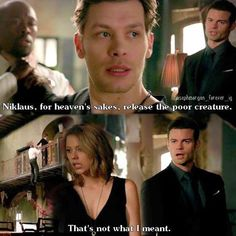 #3x13 This was hilarious. I love Elijah and Klaus. They are freaking great together.
