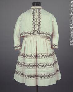 Dress  1860-1870, 19th century