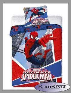 Nowy wzór pościeli ze SpiderManem - 100% bawełna Faro - dla małych i dużych fanów SpiderMana