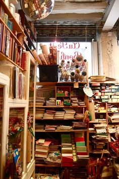 Paris's Best Antiques and Street Markets - A great list of trinket and furniture shops, and neighborhood markets - Shown, Au Petit Bonheur de Chance, Paris.I think we all deserve a shopping vacation in Paris, France! Paris Travel, France Travel, The Places Youll Go, Places To Go, Paris Flea Markets, Paris 2015, Paris Love, Paris Jackson, Antique Shops