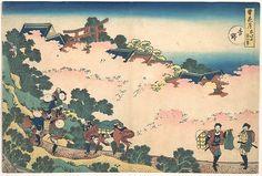 葛飾北斎| 吉野(吉野)の桜、雪、月、花のシリーズ(Setsugekka)| 日本| 江戸時代(1615-1868)| The Met  雪月花吉野