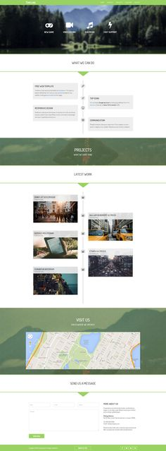 Puzzle Bootstrap Theme With Alternative Contents. | Webdesign