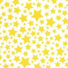 Tissu Super Stars Limon x 10cm