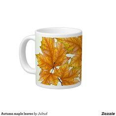 Autumn maple leaves coffee mug.