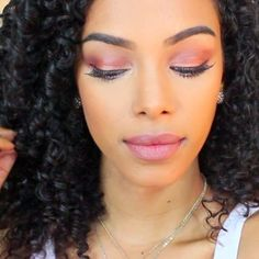 Bronze eye makeup for fall - SunKissAlba
