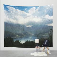 Lake between the Mountains by Psychae on society6