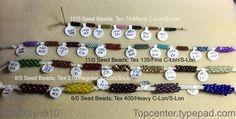 Matching Cord and Beads in Kumihimo Braiding - Kumihimo Disk & Plate