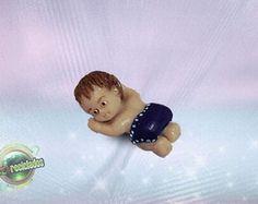BEBÊ ACORDADO - Lembrança de Nascimento