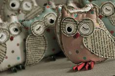 Ria Nirwana's Home: 3D owls