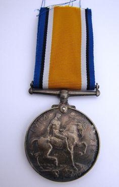 Original WW1 War Medal 304715 Pte L H Anderson 5th London Regiment - The Collectors Bag