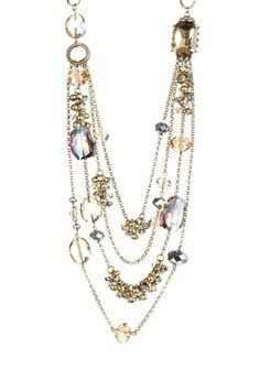 Jewelry by Felicia Topaz & Golden Iris Necklace