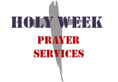 Holy Week Prayer Services There are a number of great Holy Week prayer services for kids that religion teachers and catechists can use in class the week before Easter. We should all use this time, known as the Triduum, as a special week of preparation for the joys of Easter with particular focus on preparing our hearts with the perspective of Christ's Passion, Death, and Resurrection.