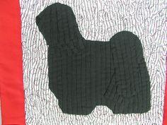 Puli quilt-black