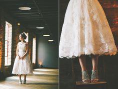 @Amber Blaskoski, I feel like you would love this dress. (Maybe not the shoes, though.) {Houston Station Nashville Wedding}