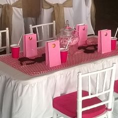 Childrens table at the Wedding Reception ✨