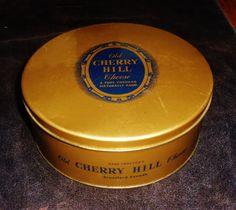 Old Cherry Hill Cheese tin, Brantford, Ontario, Canada