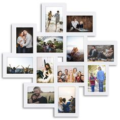 Family Wall Collage, Frame Wall Collage, Collage Picture Frames, Photo Wall Collage, Picture Frames Online, Hanging Picture Frames, Picture Frame Sets, Hanging Pictures, Wall Decor Set