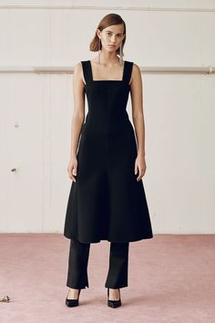 Camilla and Marc Spring | Spring 2017 Ready-to-Wear Collection | RTW fashion | Dress over pants trend