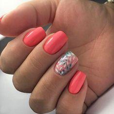"If you're unfamiliar with nail trends and you hear the words ""coffin nails,"" what comes to mind? It's not nails with coffins drawn on them. It's long nails with a square tip, and the look has. Diy Nails, Cute Nails, Beauty Nail, Nail Polish, Nail Nail, Top Nail, Nail Swag, Nagel Gel, Beautiful Nail Art"