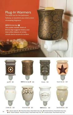 Variety of #Plug-Ins. #Star, #Blesseed and can be purchased at www.DarleneRose.Scentsy.US