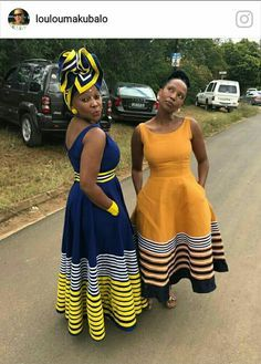Pin by CholcholcholkeChol on African Fashion in 2019 Xhosa Attire, African Attire, African Wear, African Women, African Inspired Fashion, African Print Fashion, Africa Fashion, African Print Dresses, African Fashion Dresses