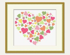 Cross stitch Heart Cross stitch pattern от PatternStitchShop