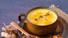 Haldi Doodh, Gold Milk, Indian Drinks, Clean And Delicious, Turmeric Milk, Plant Based Milk, Milk Recipes, Morning Coffee, I Foods