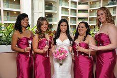 42 - Vestido de Madrinha - rosa