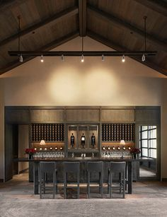 Dream wine cellar. Yep. This is my style. Forget going out to dinner. Stay here all night then retire to the pool or hot tub.