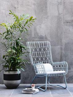 GlobeWest - Boracay Sophia Wing Chair