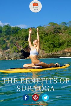 Want a fun way to shed some pounds and improve your health? SUP Yoga is super fun, a great workout and has some profound health benefits. Here are 5 reasons why you should start doing SUP Yoga today and a free. Stand Up Paddle Board, Paddle Board Yoga, Yoga Inspiration, Yoga Today, Sup Yoga, Yoga Posen, Sup Surf, Ashtanga Yoga, Yoga Sequences