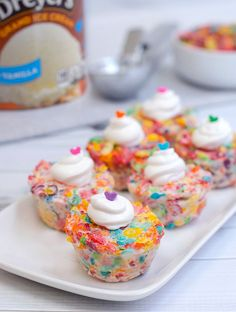 DIY: Make Delicious Fruity Pebbles Ice Cream Cups!