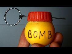 Как сделать ГРАНАТУ своими руками / How to make grenade bomb - YouTube