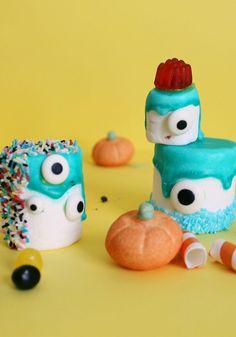 Mostri Marshmallow di Halloween