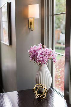 Flower Power - Design Chic #Flowers #PinkFlowers
