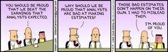 Wie man Analystenschätzungen am einfachsten übertreffen kann ...