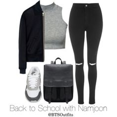 Back to School with Namjoon