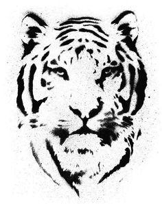 HD Poster Tiger Schablon Vektor ✓ Enkel installation ✓ 365 dagars pengarna tillbaka-garanti ✓ Bläddra bland andra mönster från denna samling!