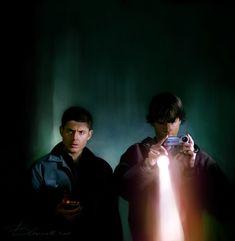 Asylum (1x10) - Dean and Sam by Blakravell.deviantart.com