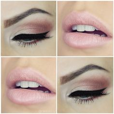 Soft pinks & shimmer  Brows: @anastasiabeverlyhills - Shadows: @maccosmetics Whisper Pink pigment on inner lid, @makeupgeekcosmetics Creme Brûlée + Frappe on outer corner & lower lash line - Eyeliner: @inglot_australia AMC in black - Lashes: @houseoflashes Iconic - Lips: @napoleonperdis Hess lipstick  #makeupgeek #anastasiabeverlyhills #maccosmetics #napoleonperdis