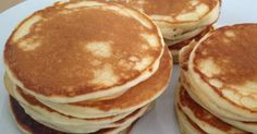 Original amerikanische Pancakes, die Besten die ich je gegessen habe Recipe Original American Pancakes, the best I've ever eaten by Abel – recipe of the Baking Sweet category Dessert Simple, Brunch Recipes, Sweet Recipes, Dessert Recipes, Pancake Recipes, No Bake Desserts, Easy Desserts, Baking Desserts, Appetizers