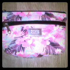 PINK Tropical Make-Up Bag VS PINK Tropical Makeup Bag. Great, bright colors. Pre-owned. Slight wear on bottom. PINK Victoria's Secret Bags Cosmetic Bags & Cases